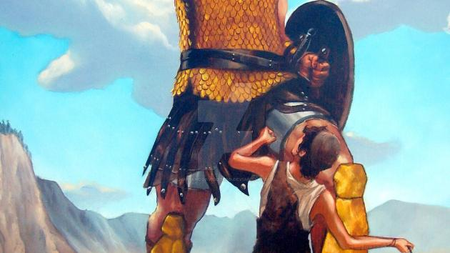 Goliath Vs David...