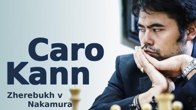 Match between - Yaroslav Zherebukh vs Hikaru Nakamura