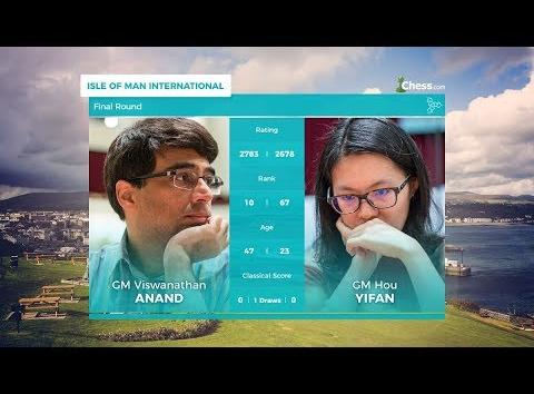 Anand Ended up second in Isle of Men Open Tournament 2017