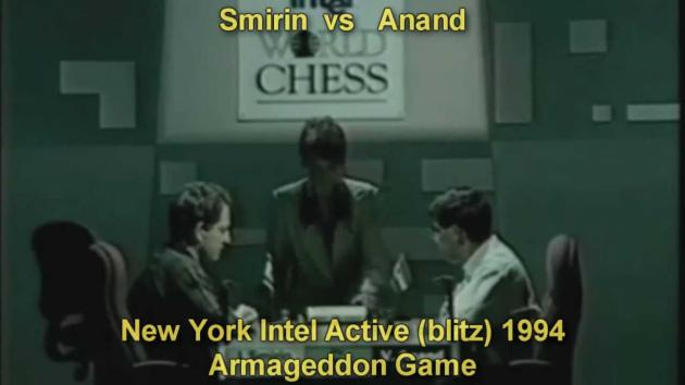 Anand spent 1:43 mins on 4th move in world blitz semi-final