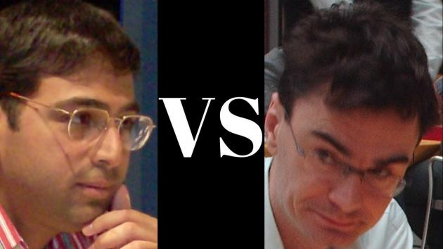 Vishy Anand crushes Scandinavian defense with a Queen Sac