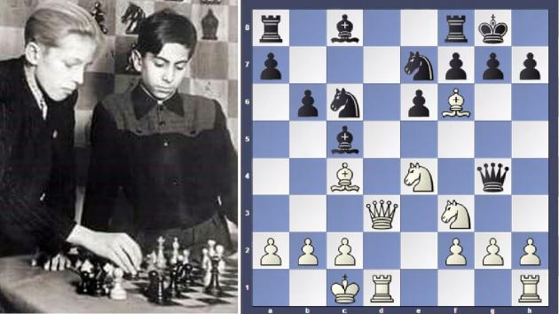 Small Wonder: Mikhail Tal at 12
