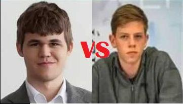 Magnus Carlsen: exchange sacrifice against Birkisson in Isle of Man Chess Open