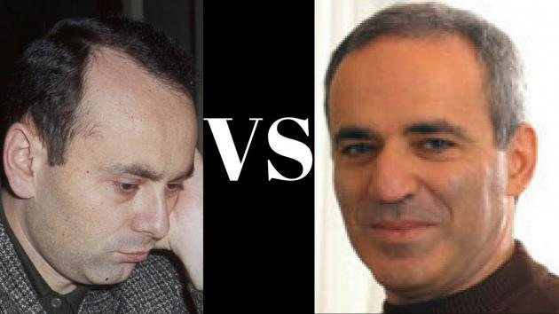Garry Kasparov's Double Bishop Sacrifice drags the Black King to 3rd rank