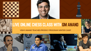 Registration for Prodigy Program Winter Camp with Anand is Open!