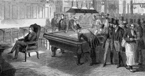 Paul Morphy vs James Cunningham - A blindfold simul from London [1859]