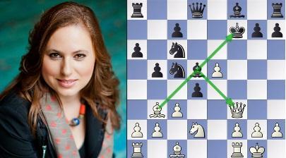 Judit Polgar beats Shakhriyar Mamedyarov