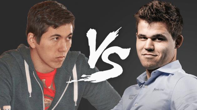 Magnus Carlsen vs Eric Hansen!