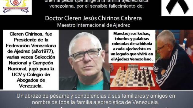 En Homenaje a Cleren Chirinos por MI Juan Armando Röhl Montes