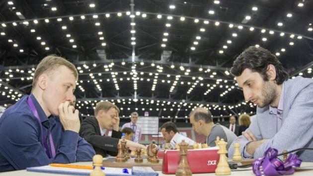 Jobava vs Ponomariov 1-0  (2016)