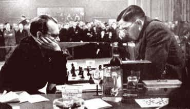 Invincible Alekhine crushes in 18 moves.