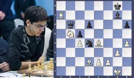 What!! Anish Giri goes for a Queen Sac.