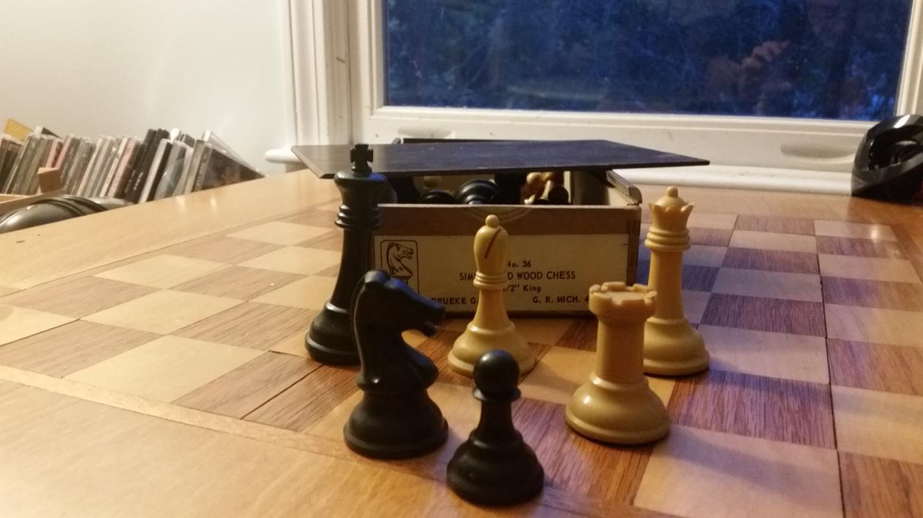 Making room for chess