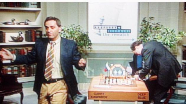 Garry Kasparov vs Deep Blue: chess match lost to technology