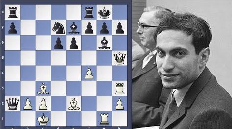 Mikhail Tal Showed his Magic with Queen Sacrifice