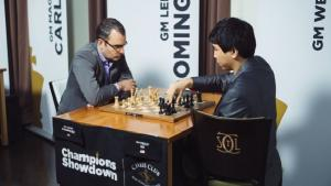 2017 CHAMPIONS SHOWDOWN - DOMINGUEZ PEREZ Against WESLEY SO Rounds 1.4's Thumbnail
