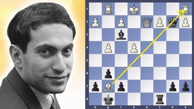 Mikhail Tal's craziest combination