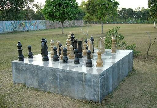 Out door Chess in Bangladesh