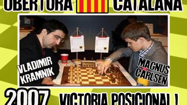 Vladimir Kramnik vs Magnus Carlsen (2007) Obertura Catalana