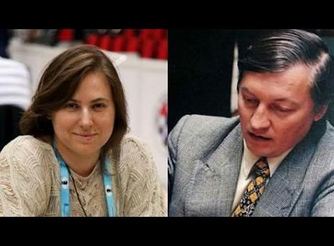 Polgar forced Karpov to resign on 21st move