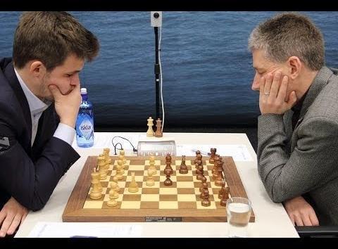 Nivel Intermedio & Avanzado: Contra el tablero, contra el rival: Carlsen–Adams, Tata Steel 2016
