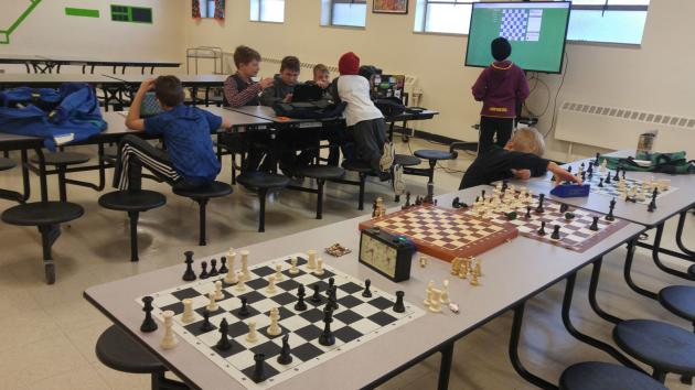 The Final Game of 2017 at the WestSide Elementary Afterschool Chess Enrichment Program