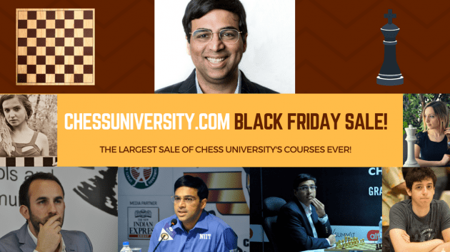 Massive Black Friday Sale at ChessUniversity.com