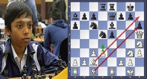 Praggnanandhaa beat top seed player in junior world championship 2017