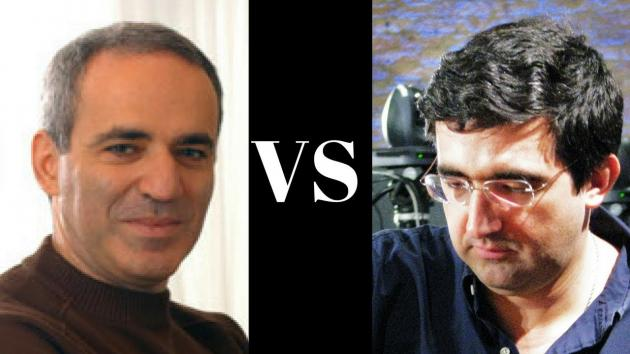 Garry Kasparov's Queen reborn after Queen Sacrifice