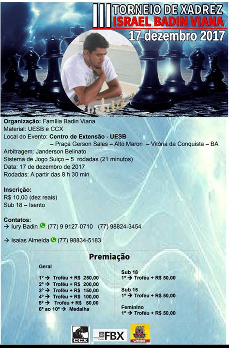 III Torneio Israel Badin Viana