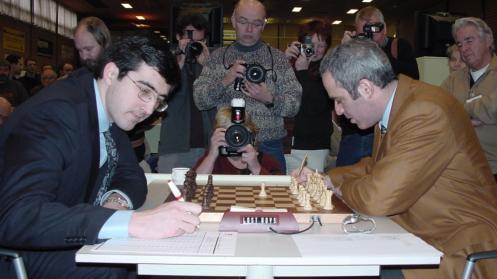 Kramnik Surprise Kasparov with his sacrifices