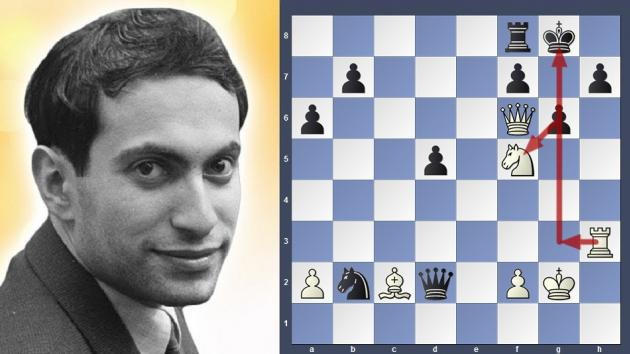 Mikhail Tal attacking maniac