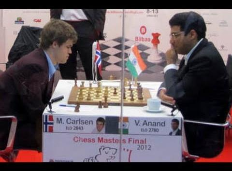 Nivel Intermedio & Avanzado: La actividad de piezas: Carlsen–Anand, Bilbao 2012