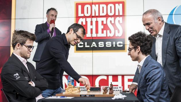 London Chess Classic. Раунд 1