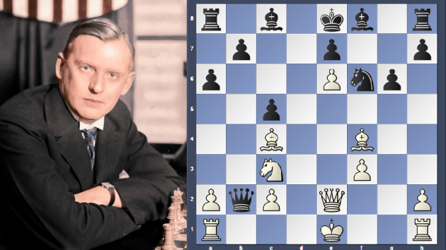 Alekhine Immortal Game