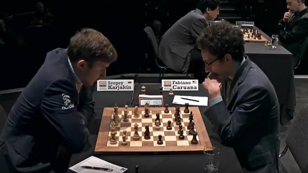 CARUANA Beat KARJAKIN With BLACK PIECES - London CHESS Classic 2017 Round 4