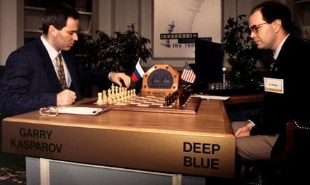 Battle between Machine and Man: Deep Blue vs Garry Kasparov