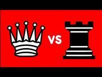 Queen VS pair pair of rook