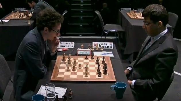 AMAZING Performance CARUANA DESTROY ANAND - London CHESS Classic 2017 Round 5
