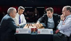 Kasparov derrota a Carlsen por MI Juan Röhl