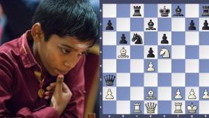 11 yrs Praggnanandhaa beat oppenet in just 19 moves's Thumbnail