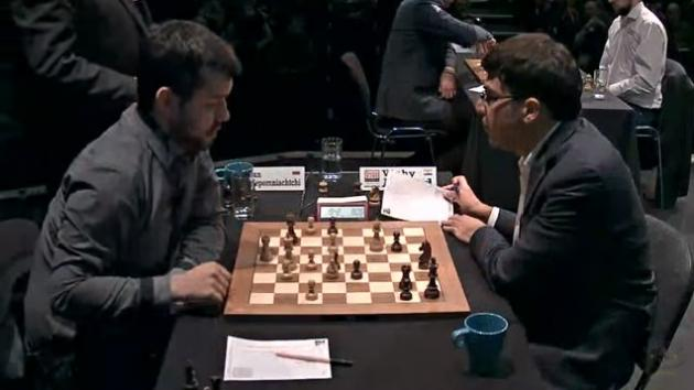 NEPOMNIACHTCHI WIN Again CRUSHES ANAND - London CHESS Classic 2017 Round 7
