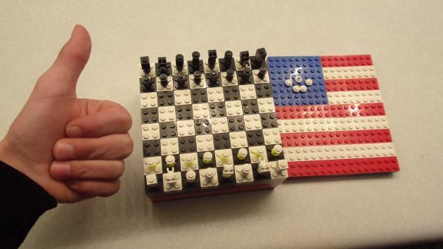 My Lego Chessboard.
