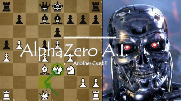 "Deep Mind Alpha Zero's ""Immortal Game"" against Stockfish"