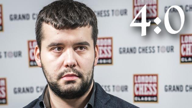 London Chess Classic. Раунд 8