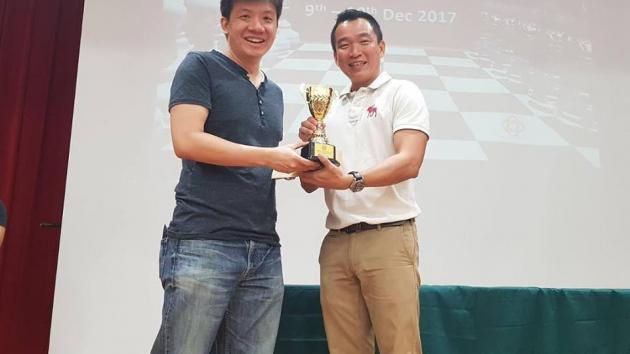 IM Goh Wei Ming pips FM Nelson Villanueva to the Cairnhill Open title!