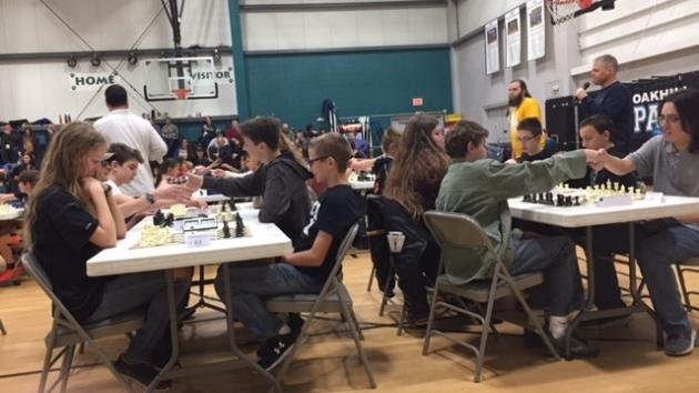 The Excelsior Springs High School Chess Team Takes Second at the Kansas City K12 Championship