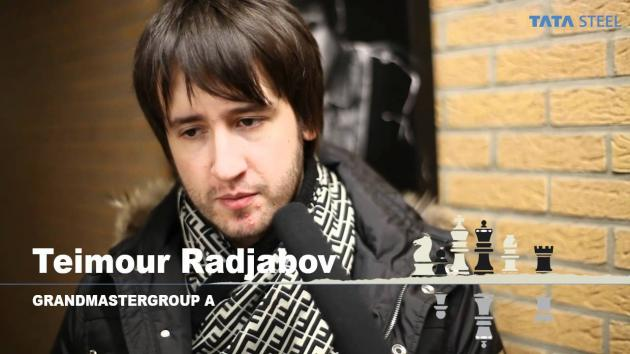 Kasparov Furious after Losing to 16 year old Radjabov's Brilliancy