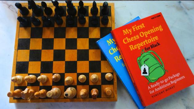 "Book Review: Vincent Moret ""My First Chess Opening Repertoire for Black"""