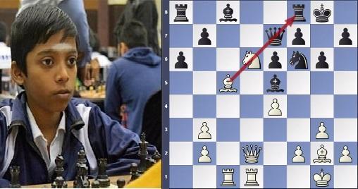 Praggnanandhaa beats Arthur Pijpers